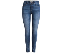 Jeggings Normal taillierte blau