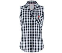 Bluse 'Dalia' schwarz / weiß