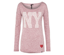 Pullover 'wls NEW York round' rot