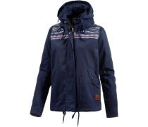 Winter Jacke dunkelblau