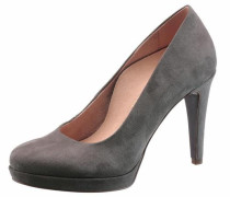 High-Heel-Pumps 'Heart & Sole' dunkelgrau