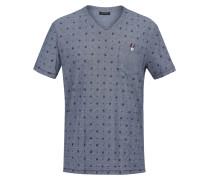 T-Shirt 'Milio' taubenblau