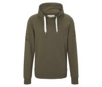 Strick & Sweatshirts Sweatshirt mit Stehkragen und Print