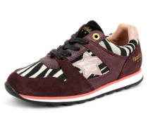 Sneaker Lecce low Junior Leder rot