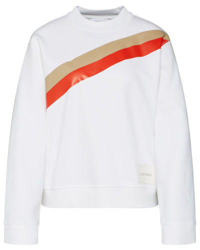 Sweatshirt 'yoke Stripe Funnel Sweatshirt LS'