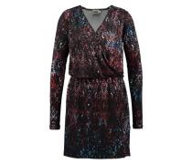 Kleid in Wickeloptik 'Marika' mischfarben