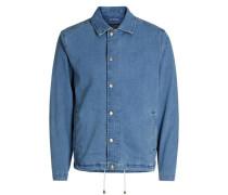 Jacke Workwear-Style blau