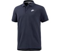 Matchup Poloshirt navy / weiß
