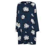 Kleid 'Marice' nachtblau / weiß