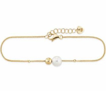 Perlenarmband ' love pearl twist C7334B/90/46/19' gold