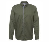 Shirt / Blouse gemustertes Hemd khaki