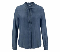 Jeansbluse 'Katya' blue denim