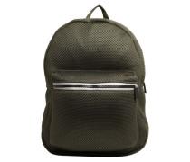Rucksack mit Meshoberfläche khaki