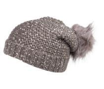 Mütze 'PCjamilla' grau
