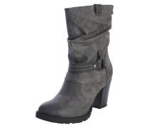 Stiefel mit Metallring dunkelgrau