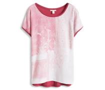 T-Shirt mit Paisley-Print rot