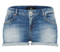 Knappe Used Shorts 'Judie' blue denim