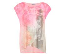 Buntes T-Shirt mischfarben / pink