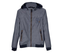 Funktionale Jacke aus Chambray
