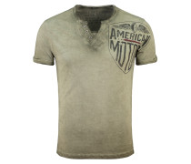 V-Shirt grün