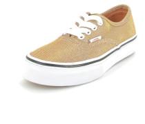 Sneaker Authentic Textil gold