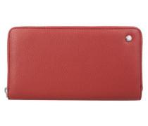 Adria Geldbörse 19 cm rot