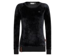 Female Sweatshirt Mackin da Hoes III schwarz