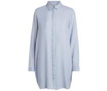 Langes Hemd hellblau