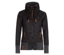 Jacket 'Schlagerstar V' braun / schwarz / schwarzmeliert