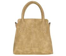 Sanne New York Mini Bag Handtasche 21 cm beige
