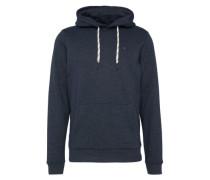Sweatshirt mit Kapuze dunkelblau