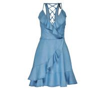 Kleid in Denimoptik 'Nicole' blau