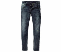 Slim-fit-Jeans »Kyle (Stretch)« blue denim