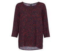 Shirt 'anika' rot / schwarz