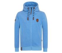 Male Zipped Hoody Birol Jeck IV blau