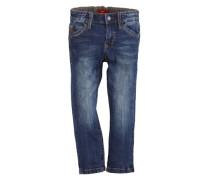 S.Oliver Junior Dunkle Stretch-Jeans blau