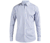 Hemd Daniel Button-Down Mason Streifen- rauchblau