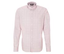 Gepunktetes Hemd pink