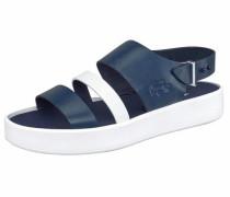 Sandale 'Pirle' enzian / weiß