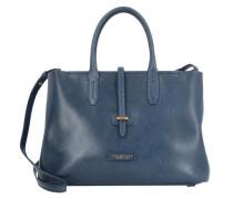 Dalston Shopper Tasche Leder 36 cm blau