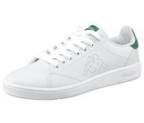 Court Sneaker grasgrün / weiß