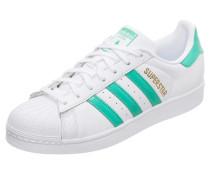 Sneaker 'Superstar' mint / weiß