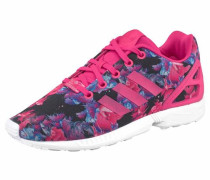 Sneaker 'ZX Flux Junior' dunkellila / pink / weiß