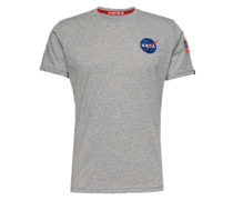 T-Shirt 'Space Shuttle T' graumeliert