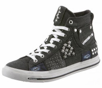 Sneaker black denim