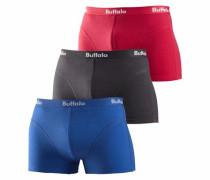 Boxer (3 Stck.) blau / rot / schwarz