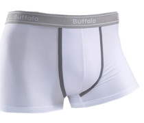 Baumwoll-Hipster (4 Stck.) grau / schwarz / weiß