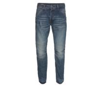 5-Pocket-Jeans '5620 Elwood 3D Tapered' blue denim
