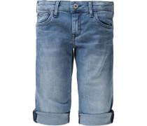 Jeansshorts Regular Scarla Crop blue denim