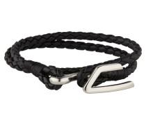 Armband 'A-Bruny' schwarz / silber